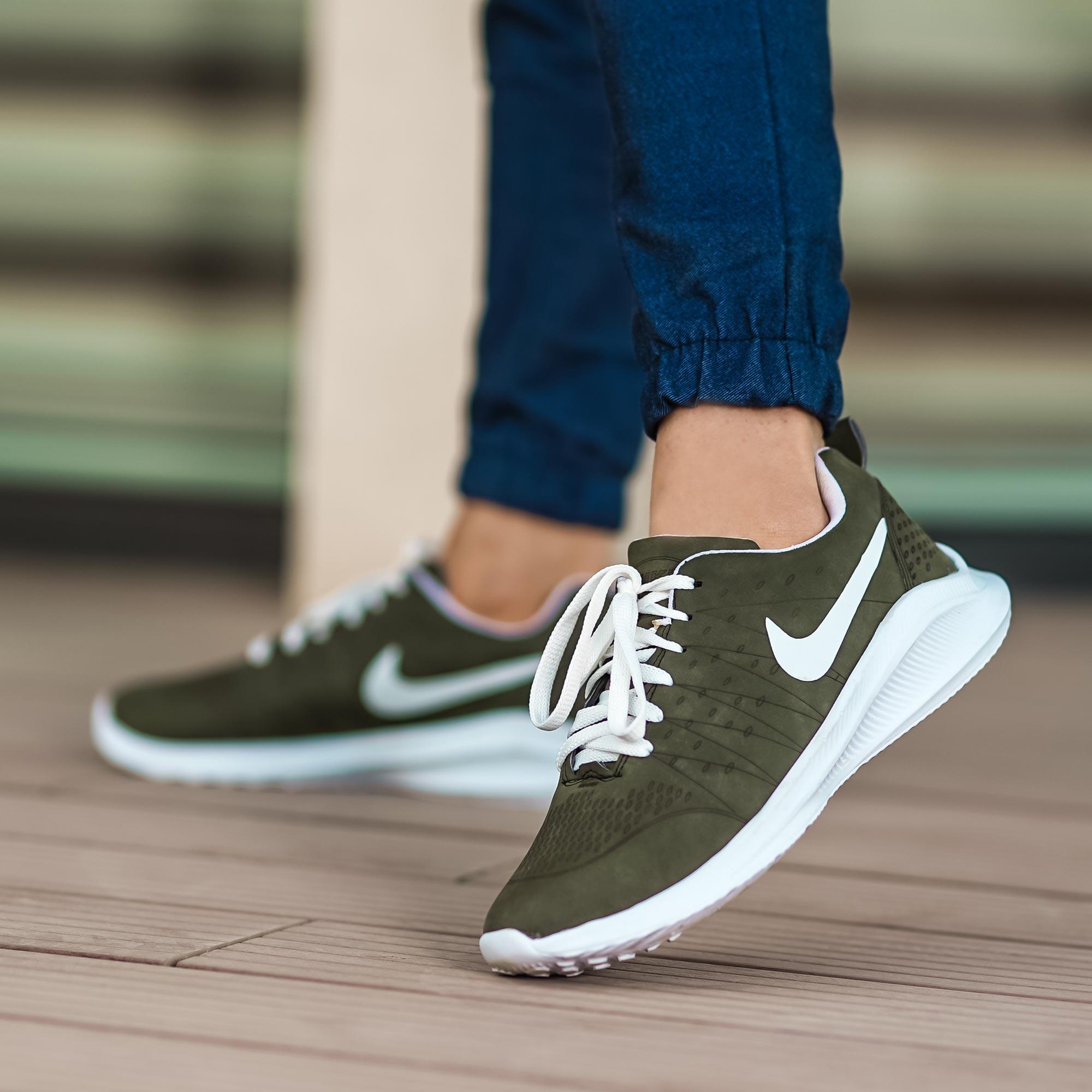 شش مدل کفش کتونی اسپرت طوسی قهوه ای مشکی آبی سبز لجنی